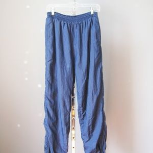 Vintage 90s Wilson Track Pants Blue Size Large